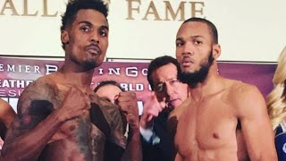 CHARLO VS WILLIAMS WEIGH IN RESULTS! ROOTING FOR JROCK BUT CHARLO IS BETTER? WHAT OF ANDRADE?