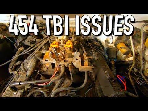 94 Chevy 3500 454 Tbi Replacement Issues Youtube