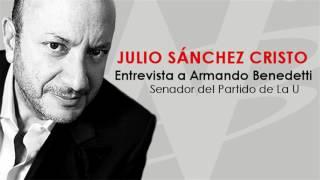 Julio Sánchez Cristo entrevista a Armando Benedetti
