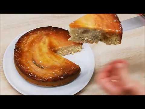 gÂteau-caramÉlisÉ-a-la-banane-trÈs-facile-(cuisine-rapide)