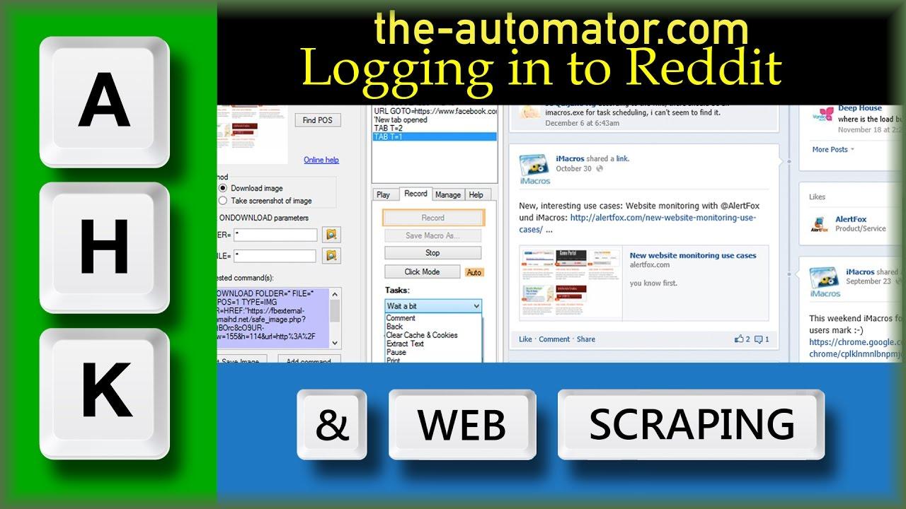Automate Login to Reddit with AutoHotkey