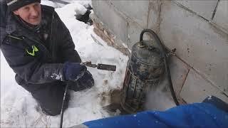 Как отогреть замерзшие трубы с водой зимой?! Делаем парогенератор