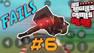 Funny moments in Los Angeles Crimes Online (LAC) / Fails LAC #6