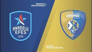 EuroLeague 20. Hafta: Anadolu Efes - Khimki