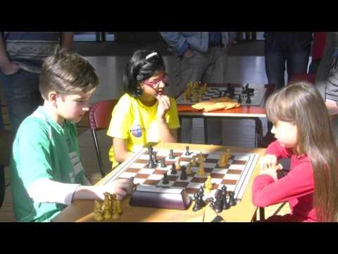 Veronika Veremyuk vs Daniel Kutchoukov - Blitz Chess Game, Amsterdam, Netherlands