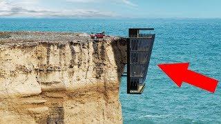 10 Невероятных домов в необычных местах