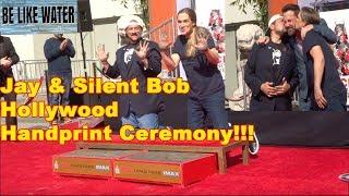 Ben Affleck, Kevin Smith & Jason Mewes @ Hollywood Handprint Ceremony