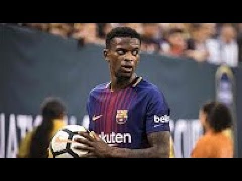 Nelson Semedo Debut for Barcelona vs real madrid Champions Cup:: North America