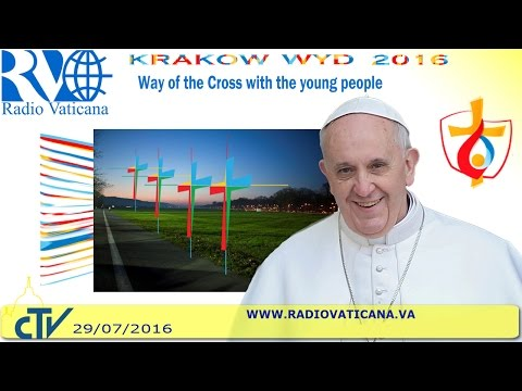 Pope Francis in Poland: Way of the Cross