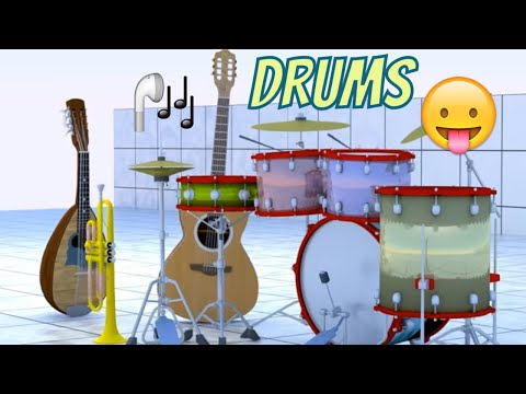 Drums.  movie clips for kids  Didadu.tv