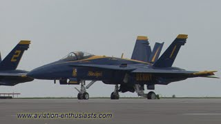 2012 Cleveland National Air Show Blue Angels demonstration highlights (Sunday)
