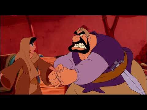 Aladdin (1992 Disney Film) - Princess Jasmine Escapes The Palace And Meets Aladdin