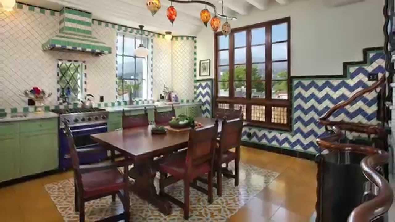 Casa Bohemia: The Spanish Style House   YouTube