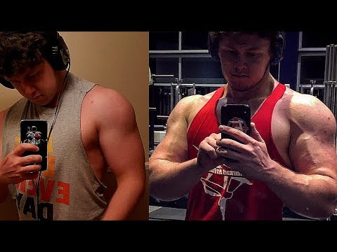 Sarms RAD140 Body Transformation Before & After (Documentary