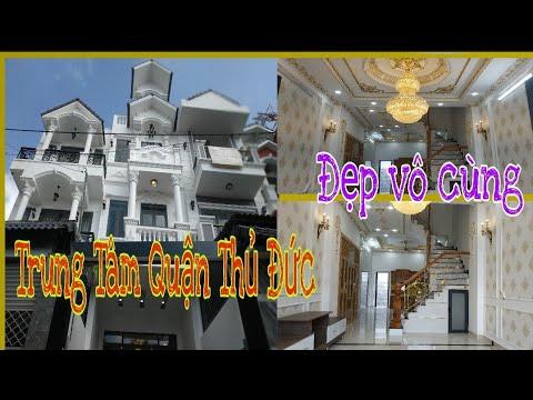 Bán nhà Quận Thủ Đức (95),gần Chợ Thủ đức,nhà đẹp,hiện đại,sang trọng, phường Trường thọ