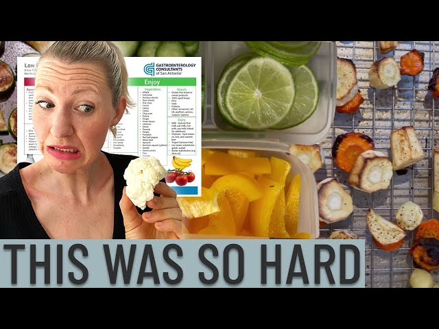 I Did the Low FODMAP Diet for 3 Months for Extreme Bloating & Gas (The Results were SHOCKING)