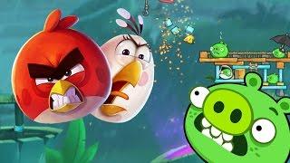 Мультик Игра для детей Энгри Бердс 2. Прохождение игры Angry Birds [35] серия