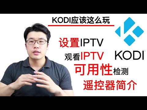 【KODI应该这么玩】之IPTV篇(小白)——丢掉机顶盒看IPTV/安装IPTV/设置IPTV/检测直播源可用性/遥控器简介