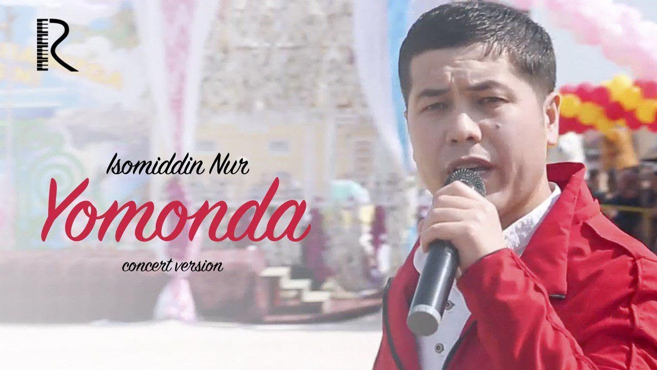 Isomiddin Nur - Yomonda | Исомиддин Нур - Ёмонда (concert version 2019) #UydaQoling