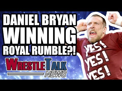 Daniel Bryan WINNING Royal Rumble 2018?! Kevin Owens Injured | WrestleTalk News Jan. 2018