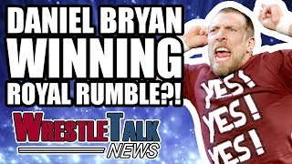 Daniel Bryan WINNING Royal Rumble 2018?! Kevin Owens Injured | WrestleTalk News Jan. 2018