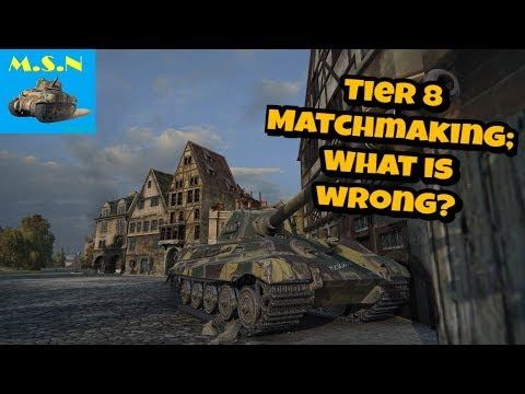 World of Tanks || Lets take a look at tier 8 || Broken Matchmaking from YouTube · Duration:  21 minutes 58 seconds
