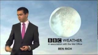 BBC News channel Giggles and Weather Blooper