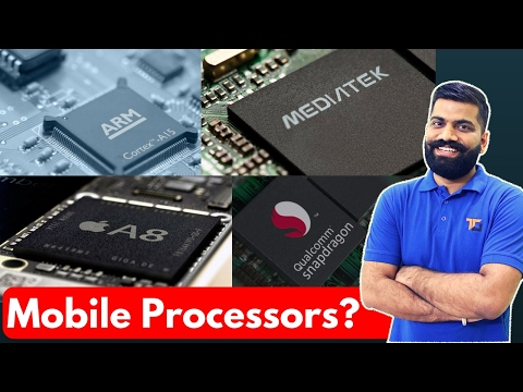 Mobile Processors Explained in Detail | Qualcomm Vs Exynos Vd MediaTek