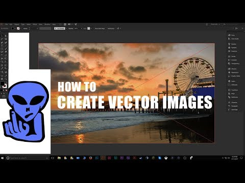 How to Create Vector Images from Logos and Pictures in Adobe Illustrator CC 2017