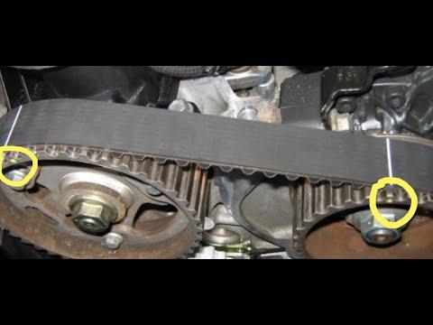 Renault Laguna 2 1.9dCi замена ремня ГРМ правильное натяжение!