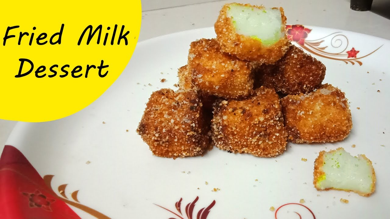 💕 Fried Milk 💕 | Spanish Dessert.. Fried Milk Recipe | Fried Milk Without Egg