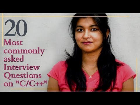 "20 Most commonly asked Interview Questions on ""C/C++ "" 