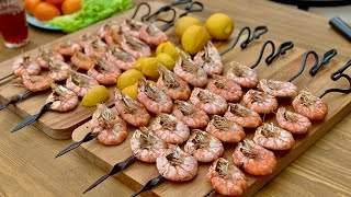 Shrimp barbecue.