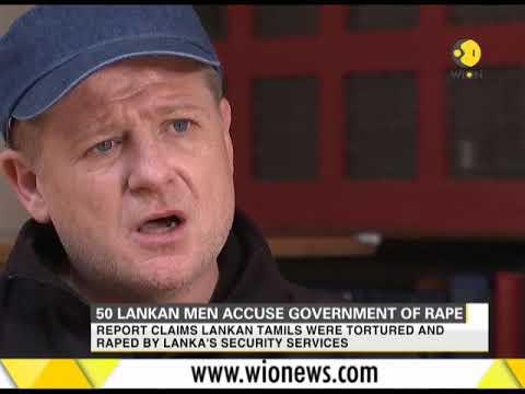 50 Lankan men accuse government of rape
