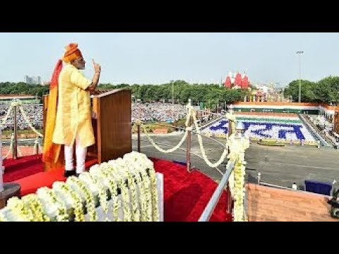 Narendra Modi's speech at the 71st Independence Day Celebrations at Red Fort, Delhi