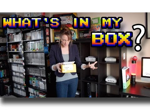 A Mystery Retro Gaming Box Arrives