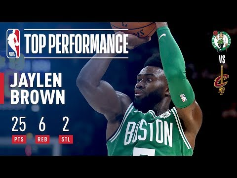 Best of Jaylen Brown From Opening Night | 25 Points, 6 Rebounds