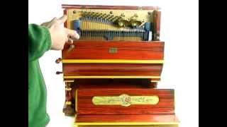 Organillo de Manubrio de Antonio Martin, Madrid, año 1950. Afinado.