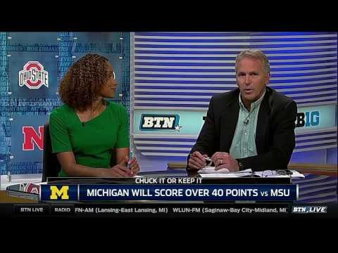 Chuck It Or Keep it: Michigan Will Score 40 Against MSU