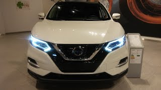 Start Up / review 2018 Nissan Qashqai 1.2 DIG-T 115   Xtronic Tekna Review with Walkaround