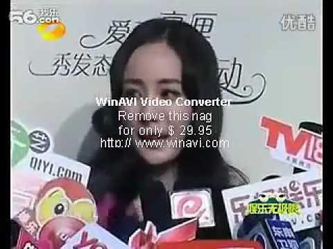 yangmi interview.flv