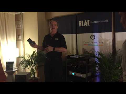 ELAC Speakers Demonstration from Andrew Jones at T.H.E. Show Newport 2016