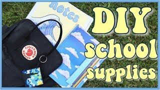 DIY ✰ aesthetic ✰ School Supplies! (Back to School 2019)