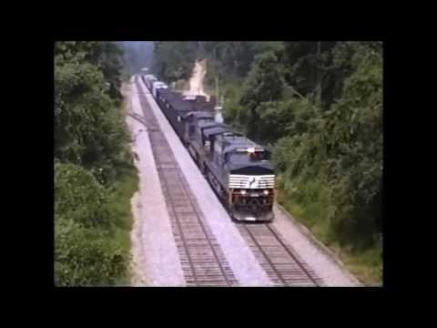 Flashback Friday: NS Saluda grade, Saluda North Carolina  1996