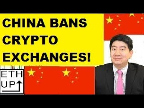 CHINA BANS CRYPTO EXCHANGES!