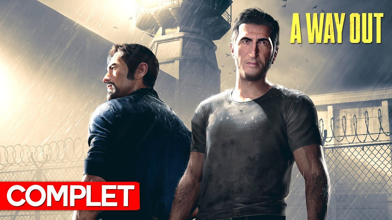 A way OUT! Jocul complet (LIVE)