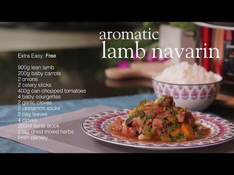 Slimming World Slow Cooker Recipe - Lamb Navarin Stew