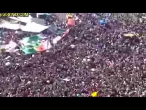 لحظة فوز د.مرسي في ميدان التحرير, فيديو خيالي