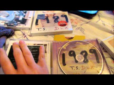 Unboxing My Taylor Swift 1989 Deluxe Cd From Target!!!