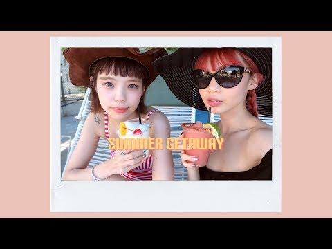 summer diary ⇨ 🌴 palm springs getaway with seto ayumi! 🌴